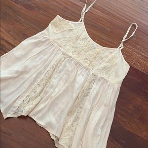 American Eagle Babydoll Lace Cami